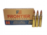 Hornady Frontier .223 Remigton 68 gr. HP Match