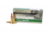 Remington Premier Match 223 mit 52 gr. Sierra-Matchking-Geschoss